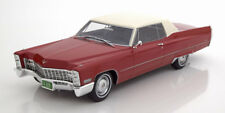 1:18 BoS Cadillac DeVille  Coupe 1967 red/white
