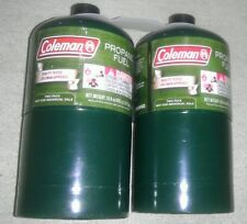 NEW Coleman Propane Cylinders Tanks, 16 oz, Quantity 2, will ship to Puerto Rico