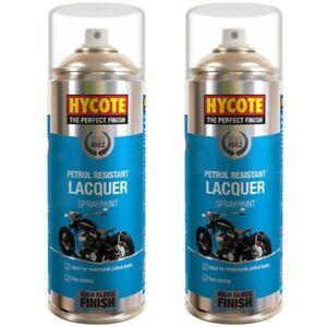 2 x Hycote Petrol Resistant Lacquer Spray Aerosol 400ml
