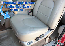 1999 Ford F250 F350 Lariat -NEW Driver Side Bottom Bucket Leather Seat Cover Tan