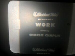 "S8mm print CHARLIE CHAPLIN ""Work"""