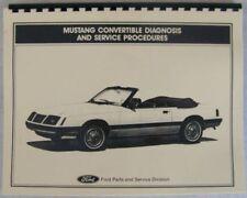 ford mustang 1985 repair service manual