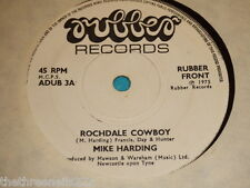 "VINYL 7"" SINGLE - MIKE HARDING - ROCHDALE COWBOY - ADUB 3A"