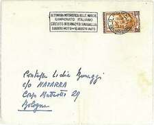 MOTOCYCLE - SPECIAL POSTMARK on COVER - ITALY 1952