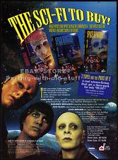 SPACE RANGERS__Orig. 1994 TV series Trade AD promo__LINDA HUNT_MARJORIE MONAGHAN