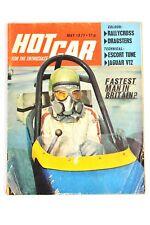 HOT CAR MAGAZINE MAY 1971 FASTEST MAN IN BRITAIN BULLIT CAPRI TRIUMPH STAG VIVA