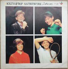 Krzysztof Antkowiak - Zakazany owoc (LP) Polish vinyl winyl polski Polska