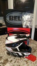 Bell Full 9 Full Face MTB Helmet White/Black Carbon XL