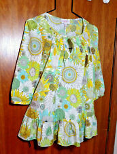 Liberty of London Target XS Sunflower Floral Tunic Top