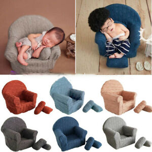 3Pcs/set Newborn Baby Posing Mini Sofa Arm Chair Pillows Infant Photography Prop