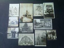 Uss Charleston C-22 & Uss Ohio Bb-12 c 1907 & 1908 Asiatic Fleet