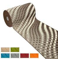 Tappeto cucina mosaico TESSITURA 3D onde passatoia antiscivolo bagno mod.CLELIAD