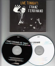 FRANZ FERDINAND Live Tonight Hammersmith Apollo 2009 2-CD Live Here Now