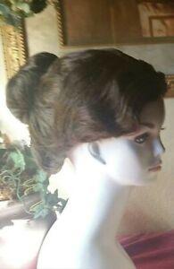 Custom Beth wig to mimic poppins wig color 6 dark chestnut brown