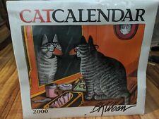 New Sealed B. Kliban Cat Calendar Vintage Collector's 2000 Kawaii