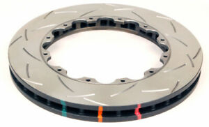 DBA Rear 5000 Series Slotted Brake Rotor Ring For Nissan R35 GT-R OEM Hat
