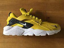 Nike Air Huarache Zip Human Race PW HU Yellow OFF WHITE Gr 48,5 UK 13 US 14 47,5