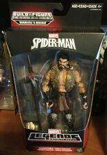 Marvel Legends Kraven the Hunter figure with Rhino leg baf from spider-man