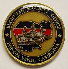 Department of State DSS Diplomatic Regional Security Office Phnom Penh Cambodia
