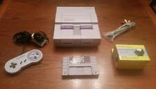 Super Nintendo Entertainment System SNES Console bundle w/Super Mario All Stars