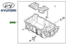 Genuine Hyundai Trajet Sump Pan - 2151027010
