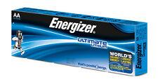 10 x Energizer Lithium Batterie AA Mignon LR6 FR6 MP3 Photo 1,5 V lose L91