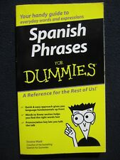 Spanish Phrases For Dummies [Paperback] [Jul 16, 2004] Wald, Susana