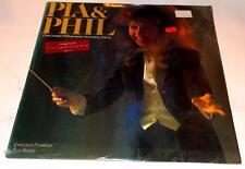 Pia Zadora Pia & Phil 1985 CBS 02591 Vocals with Orch Vinyl LP Vintage Sealed