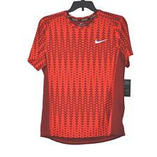 Nike Running Tee Dry Miller Short Sleeve Men's size L NWT