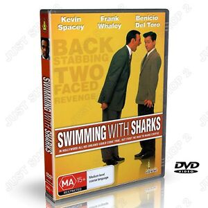 Swimming With Sharks DVD : (1994) Comedy Movie : Kevin Spacey  : Brand New