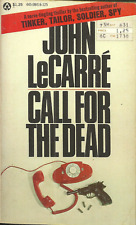 CALL FOR THE DEAD - GEORGE SMILEY #1 - John LeCarre - COMMUNIST SPIES IN ENGLAND