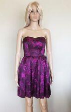 NWT US$228 AU$304 JILL STUART Satin Party Dress w Removable Straps Sz AU8 S US4