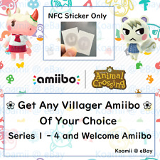 Animal Crossing New Horizons Amiibo - Choose any villagers - NFC Tag