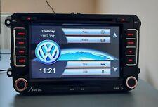 VW SEAT RNS510 Style DVD Bluetooth Headunit Stereo Sat Nav Touch SD GPS