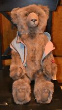 """WENDY BRENT 25"""" CINNAMON GRIZZELBEARS COLLECTION LOGO BEAR 5/200"""