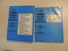 Ford Medium/heavy duty truck F B c 600 - 8000 series Service Shop manual 1988