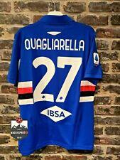 Maglia Sampdoria 2020-2021 - Calcio Quagliarella Thorsby Jersey Serie A