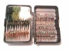 New Subsurface Trout Fisher mini fly box with 108 flies Must See