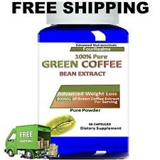 PURE GREEN COFFEE BEAN EXTRACT 800MG CHLOROGENIC ACID DIET WEIGHT LOSS