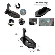 Car Doorstep Easy Access to Car Rooftop Folding Ladder Hooked on-on Foot Pegs