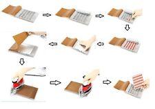 Mini Sealer Manual Capsule Blister Card Sealing Machine just by Iron 0#2*5