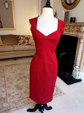 Roland Mouret Red Dress New - Size Small