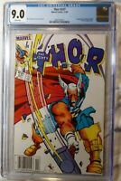 THOR #337 CGC 9.0 WHITE PAGES! 1ST APPEARANCE BETA RAY BILL NEWSSTAND VARIANT