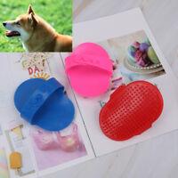 Pet dog cat bath brush hair comb rubber glove hair grooming massaging brush0