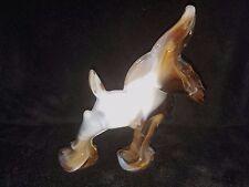Imperial Heisey Glass Caramel Slag Wild Jack Democrat Donkey Mule Animal (b)
