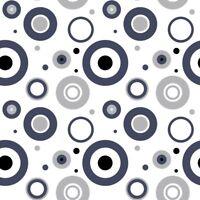 Hochw. Jerseystoff, Baumwolle m Elast, 150 cm breit, Kreise, Meterw (€ 8,00/qm)