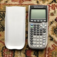 Texas Instruments TI-84 Plus Silver Edition Scientific Calculator with Cover