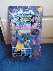 CYBER SAMURAI RAPH - Vintage Teenage Mutant Ninja Turtles - Raphael - MOC Sealed