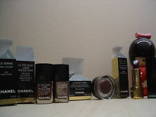 LOT MAQUILLAGE CHANEL VERNIS + GEL COAT + OMBRE PAUPIERE + ROUGE A LEVRES
