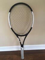 Wilson Pro Staff Roger Federer 97 Autograph Tennis Racquet - Black/White